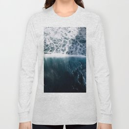Sun Wave in the Atlantic Ocean - Seascapes Long Sleeve T-shirt