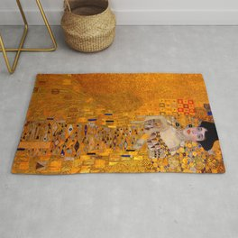 THE LADY IN GOLD BLOCH BAUER - GUSTAV KLIMT Rug