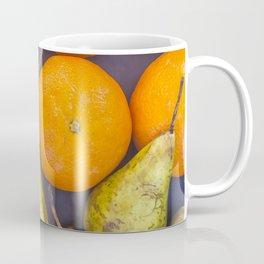Pattern of oranges and pears Coffee Mug