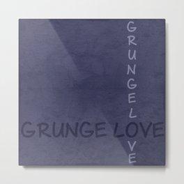 Gunge love 2 Metal Print