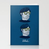 blink 182 Stationery Cards featuring Blink by Drew Brockington