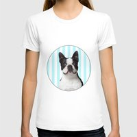 boston terrier T-shirts featuring Boston Terrier by jampot gallery