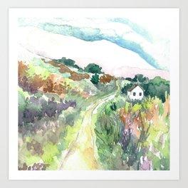 The Journey Home Art Print