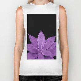 Purple Agave #1 #tropical #decor #art #society6 Biker Tank