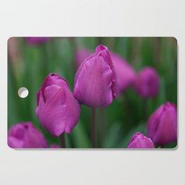 Sensual tulips Cutting Board