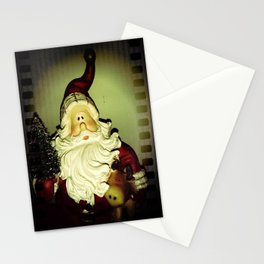 Santa (caught on camera) Stationery Cards