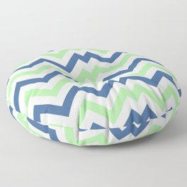 ZigZag Chevron Pattern Floor Pillow