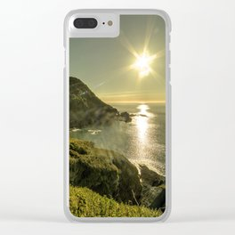 Ilfracombe Refraction Clear iPhone Case
