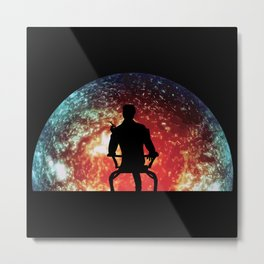 Illusive man ( Mass Effect ) Metal Print