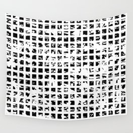 Controlled Randomness Wall Tapestry