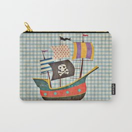 Vintage Pirates Carry-All Pouch