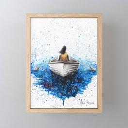 Finding Me Framed Mini Art Print