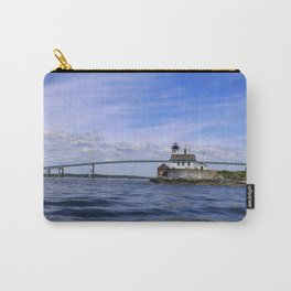 Rose Island and Newport Rode Island Bridge combo Carry-All Pouch