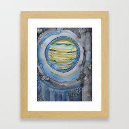 Jupiter Rising Framed Art Print