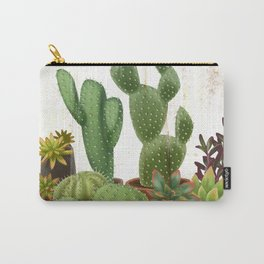 Milagritos Cacti and Succulents Nursery Carry-All Pouch