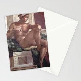 Michelangelo - Ignudo Stationery Cards