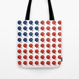 American Football Flag Tote Bag