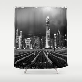 Eminent Domain Shower Curtain
