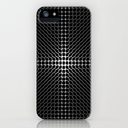 Energy Vibration 2.  Frequency - Chladni - Cymatics iPhone Case