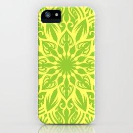 fresh mandala iPhone Case
