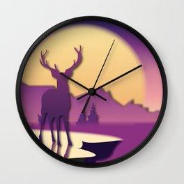 Wild Nature No. 7 Wall Clock