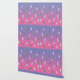 Moonrise Kodama Pattern Wallpaper