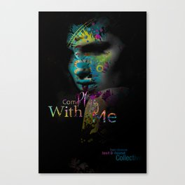 Come Play with Me Canvas Print