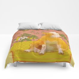 Farm Animals in Chairs #1 Cow Comforters