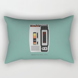 Mattel Auto Race, 1976 Rectangular Pillow
