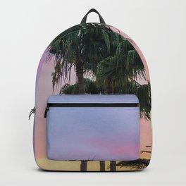 Island Paradise Palm Trees Backpack