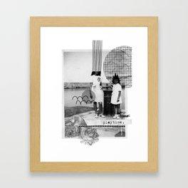 Playtime Framed Art Print