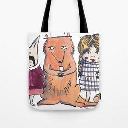 Moo Friends Tote Bag