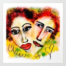 L'Amore Art Print