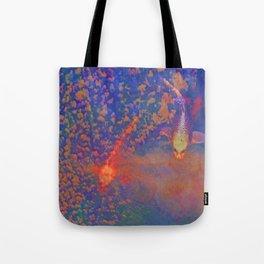 Fishys in da sky Tote Bag