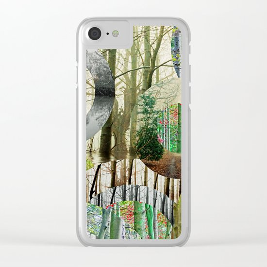 TREE-ENDOUS Clear iPhone Case