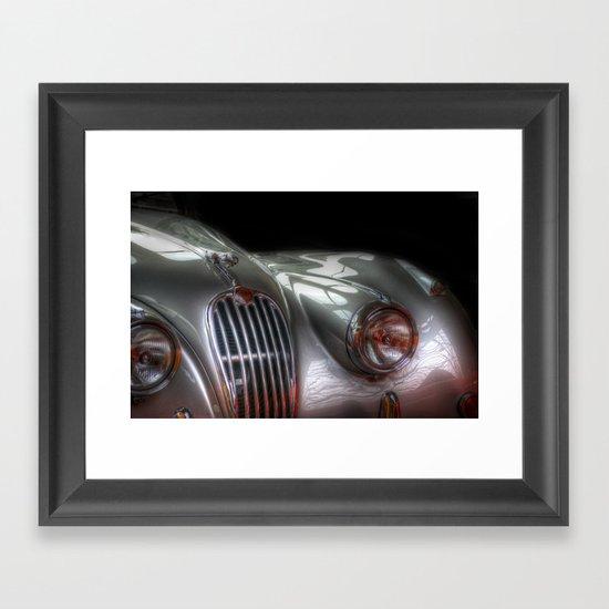 Silver Jag Framed Art Print