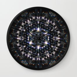 Glittering Creation Wall Clock