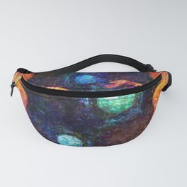 Phantasy Star II Title Screen Impressionist Painting Fanny Pack