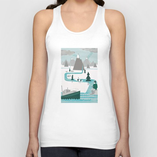 I like water Unisex Tank Top