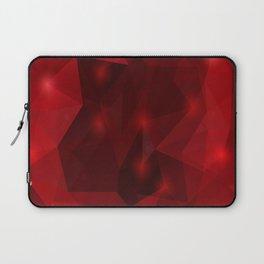 Triangle background Laptop Sleeve