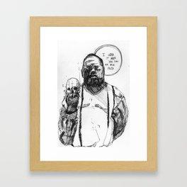 Notorious BIG Framed Art Print