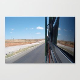 travelling Canvas Print