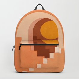 Abstraction_NEW_SUN_ARCHITECTURE_MOON_POP_ART_033AD Backpack