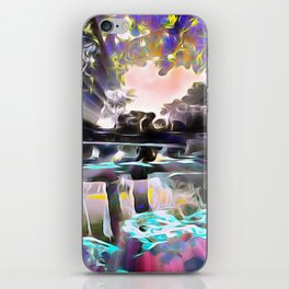 Reflections of Love iPhone Skin