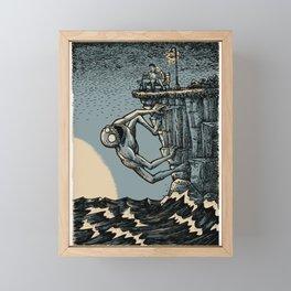 The First Date Framed Mini Art Print