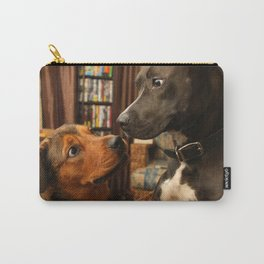 Lola and Boogy  Carry-All Pouch