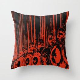 Macedonian Phalanx Throw Pillow