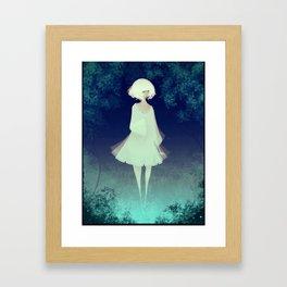 Fog Princess Framed Art Print