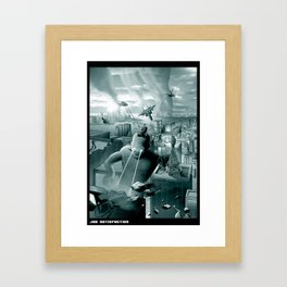 Job Satisfaction Framed Art Print