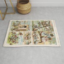 Storybook Cats, Arie Willem Segboer, 1903 - 1919 Rug
